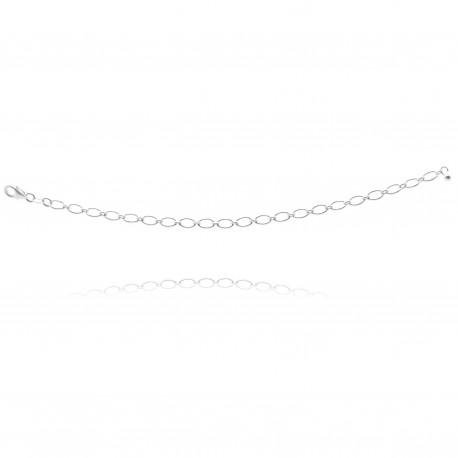 Collier chaîne anneaux larges pour y accrocher vos charms