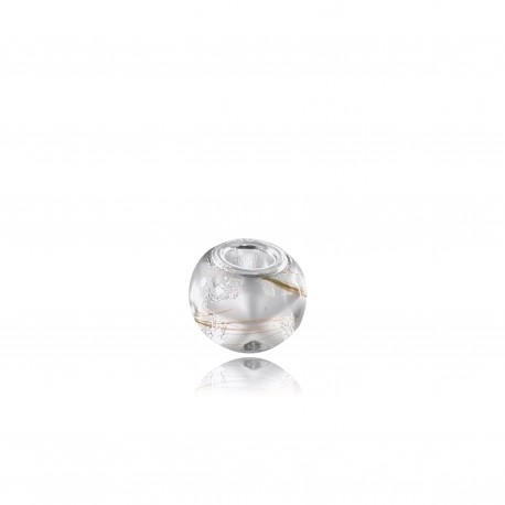 Perle adaptable Pandora avec étoile contenant votre lait maternel